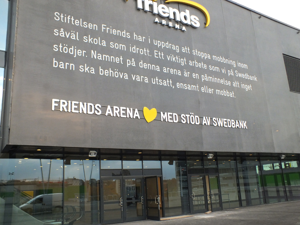Friends Arena…