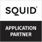 SQUID application partner, självhäftande textil för glas, akompani.se